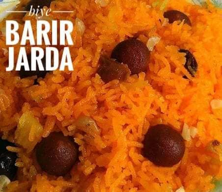 Biye Barir Shahi Jarda from Cookies Monster & Co