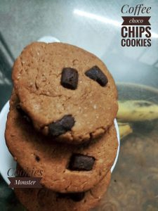Coffee Choco Chips from Cookies Monster & Co