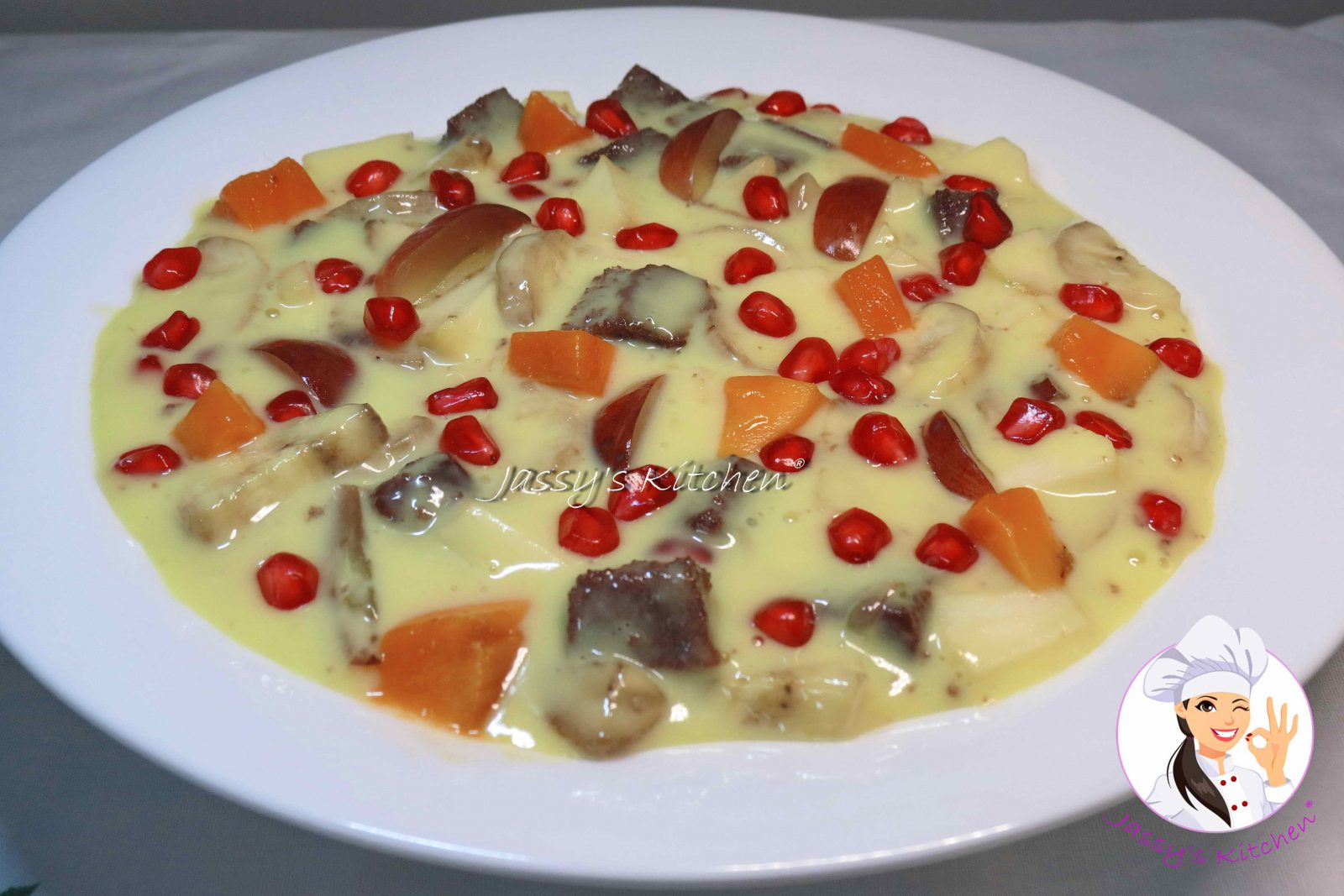 Fruit Custard from Jassy's Kitchen
