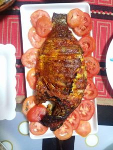 Grilled Telapia Fish
