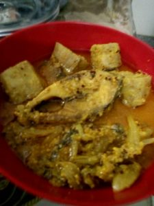 Illish Kacha Kolar Jhol from Homemade Food Factory