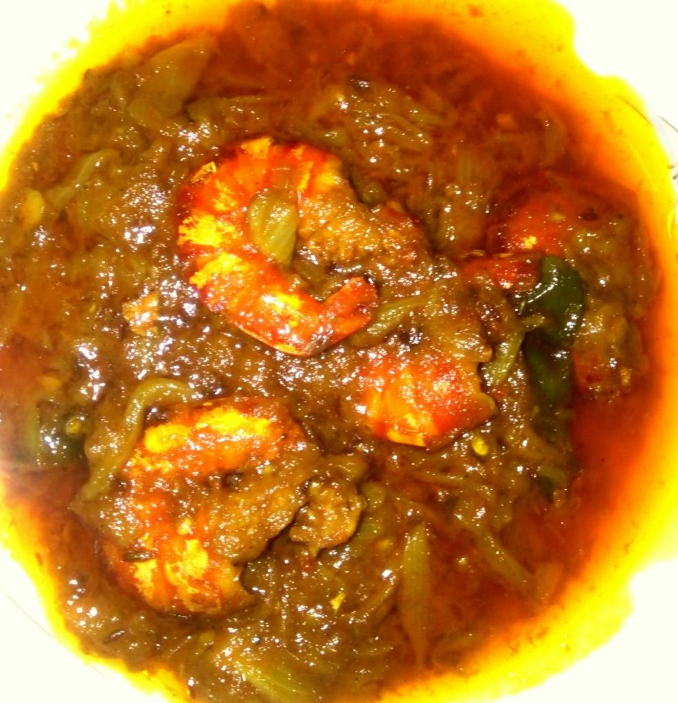 Chingri Curry from Naher Kitchen