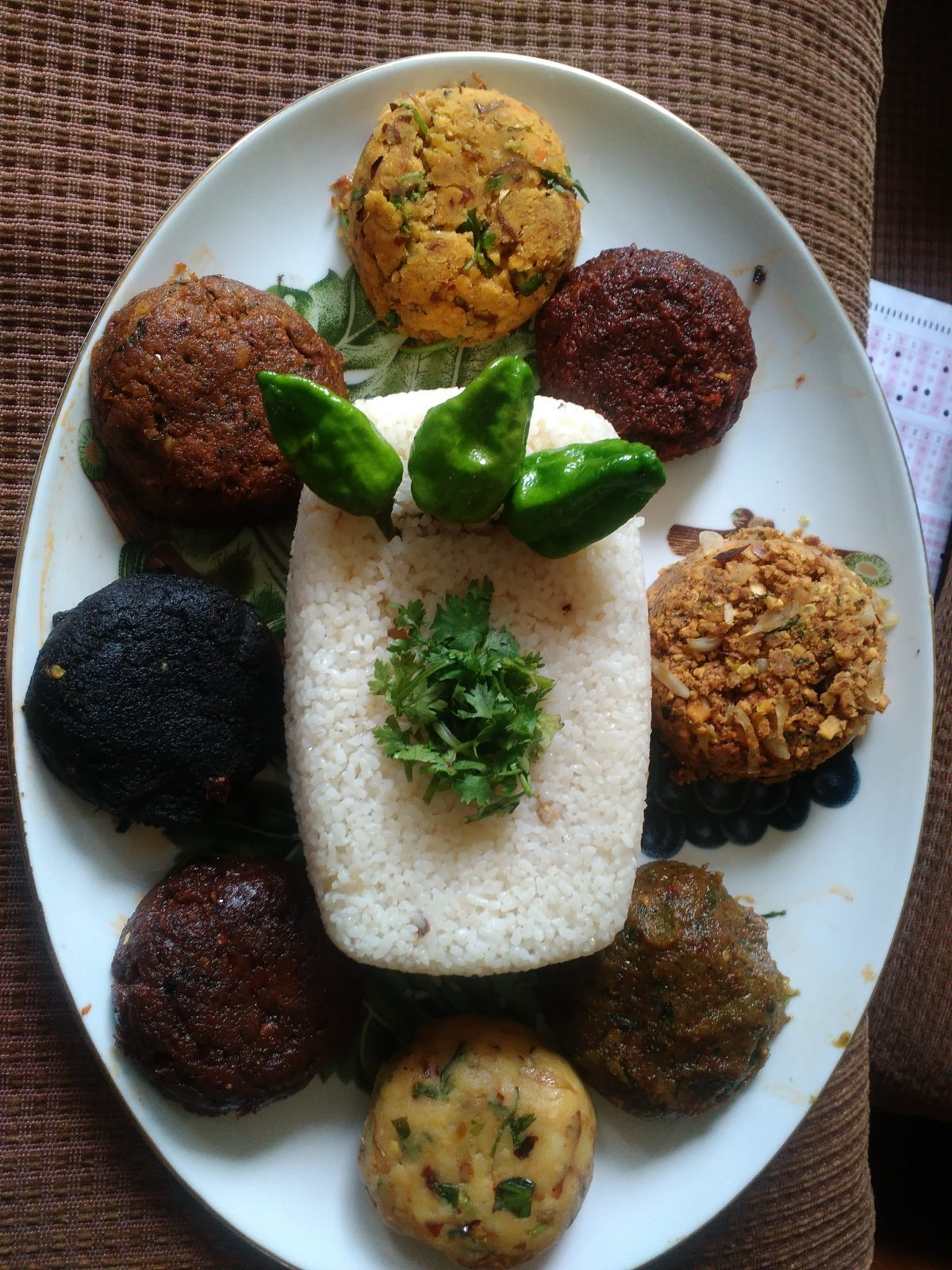 Khuder Boua and Vorta Platter from Afroza's Kitchen