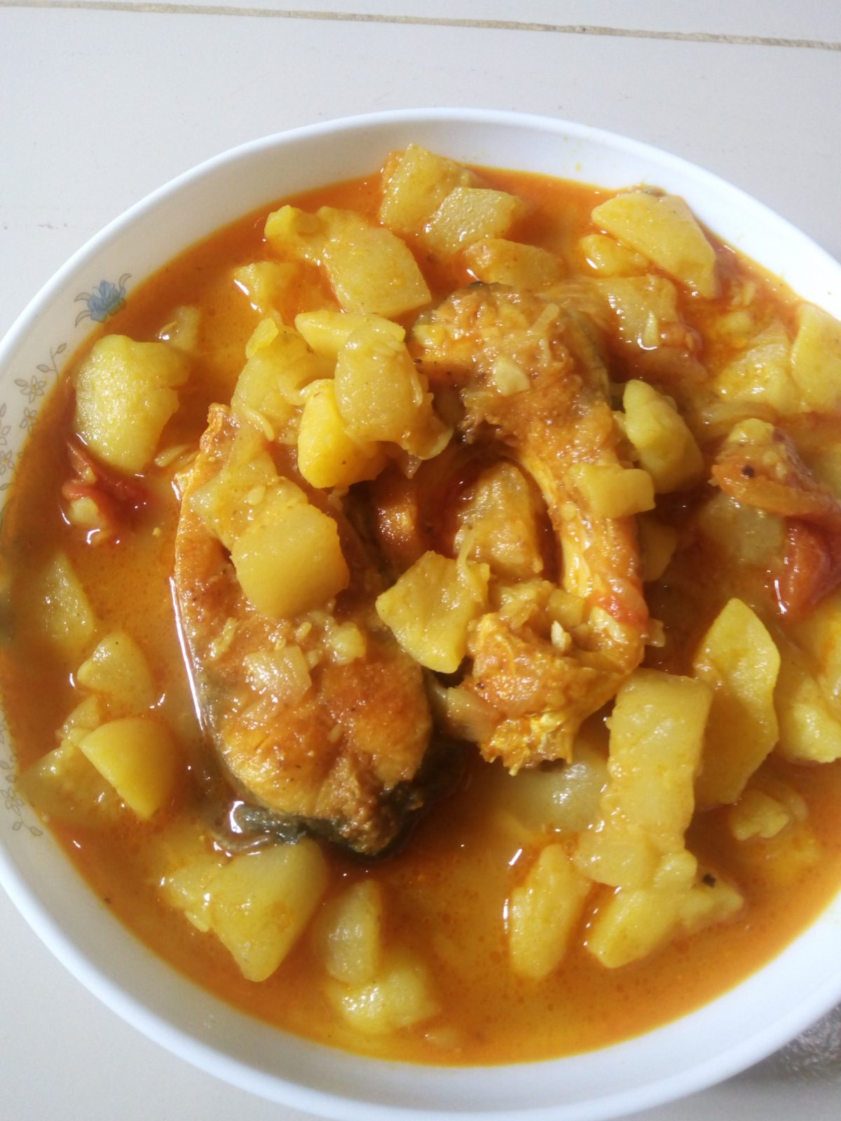 Village Fish curry (Telepia) from Naher Kitchen