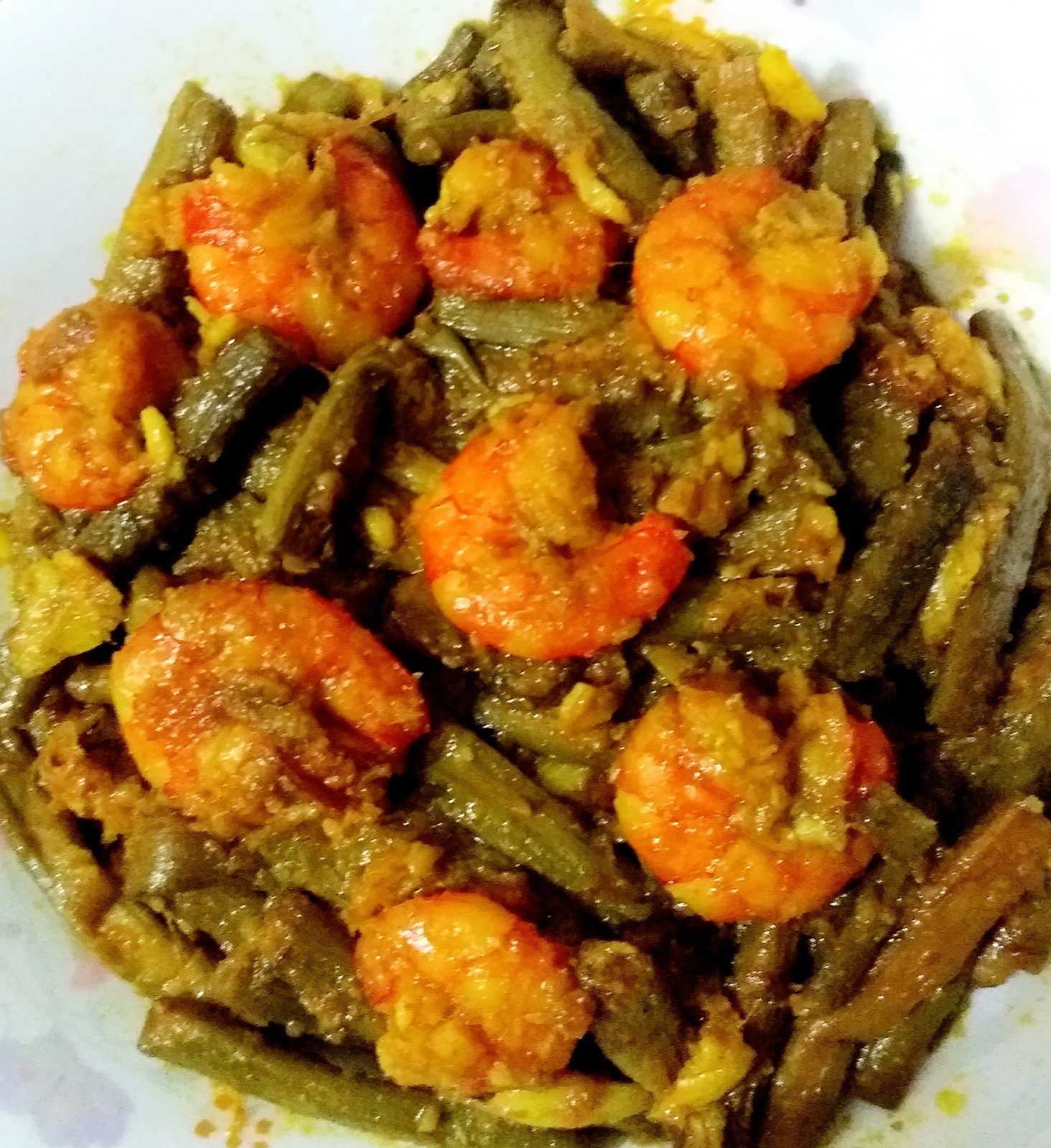 Kochur Loti with Prawn from Tahira's Cookhouse
