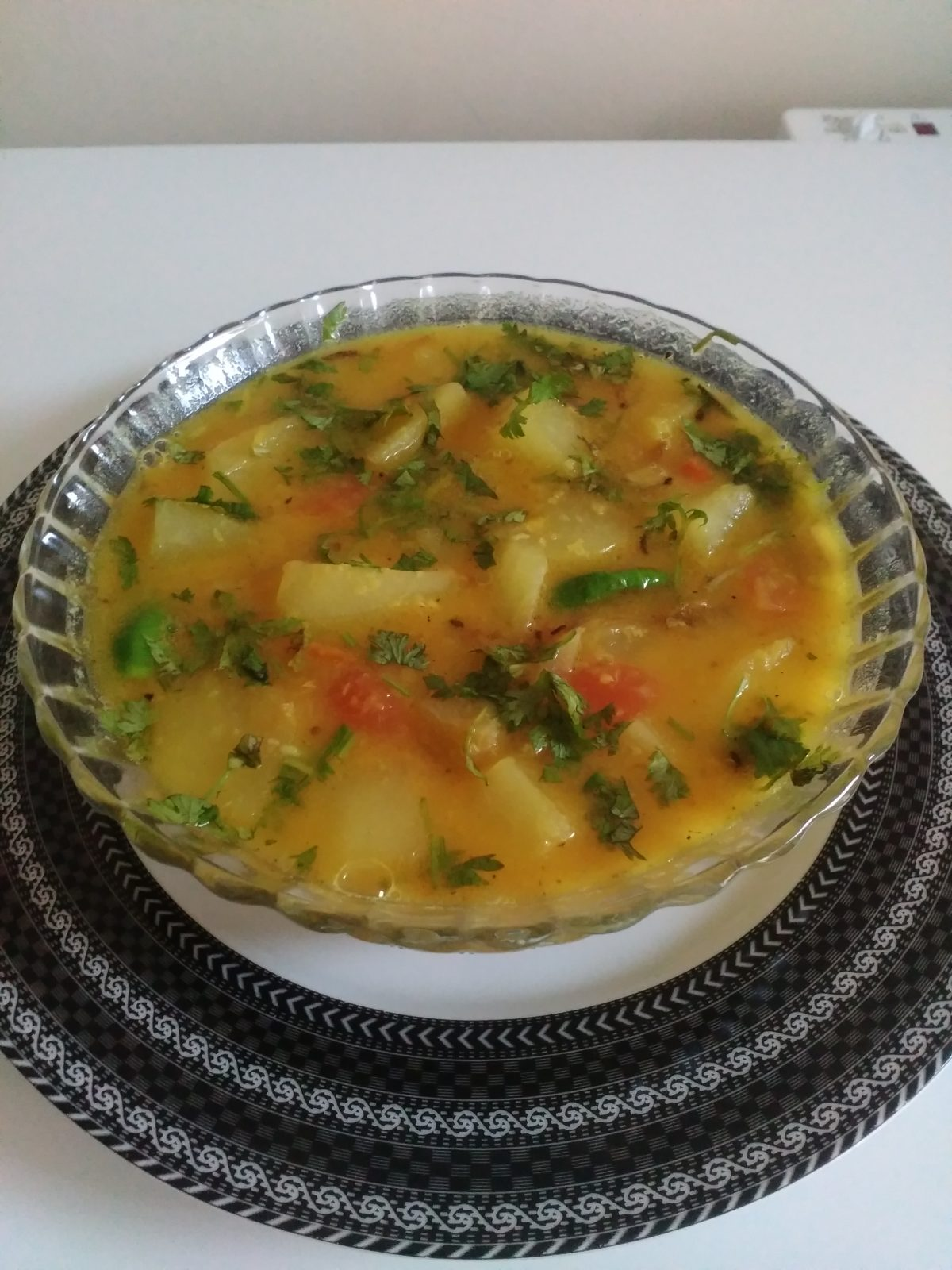 Papaya Dal from Afroza's Kitchen