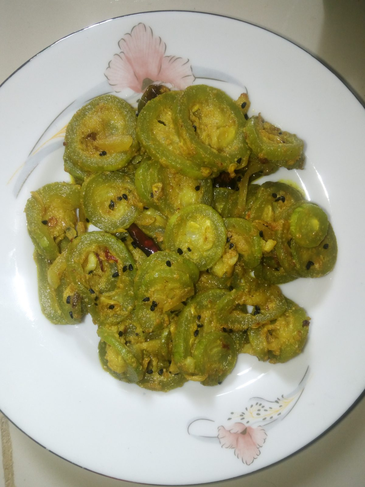 Shorshe Chichinga Vaji from Naher Kitchen