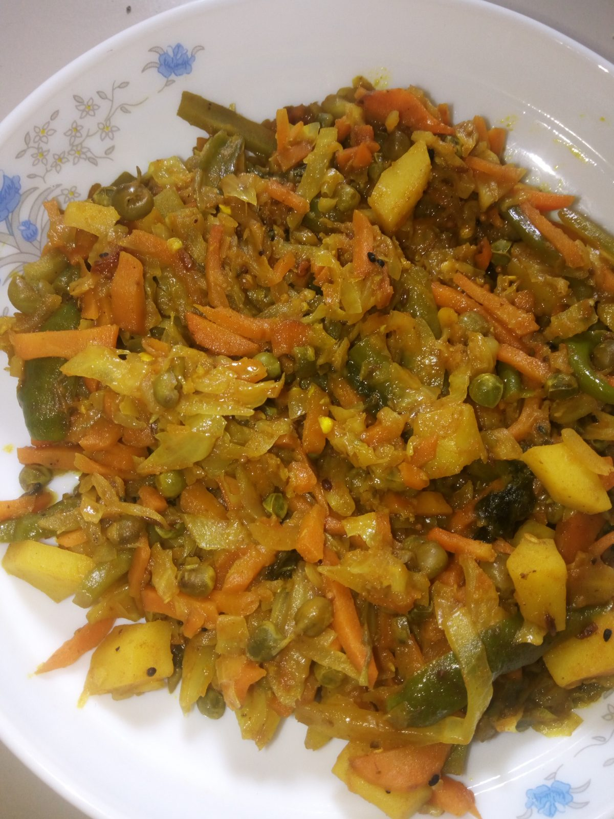 5 Mixed Vegetable from Naher Kitchen