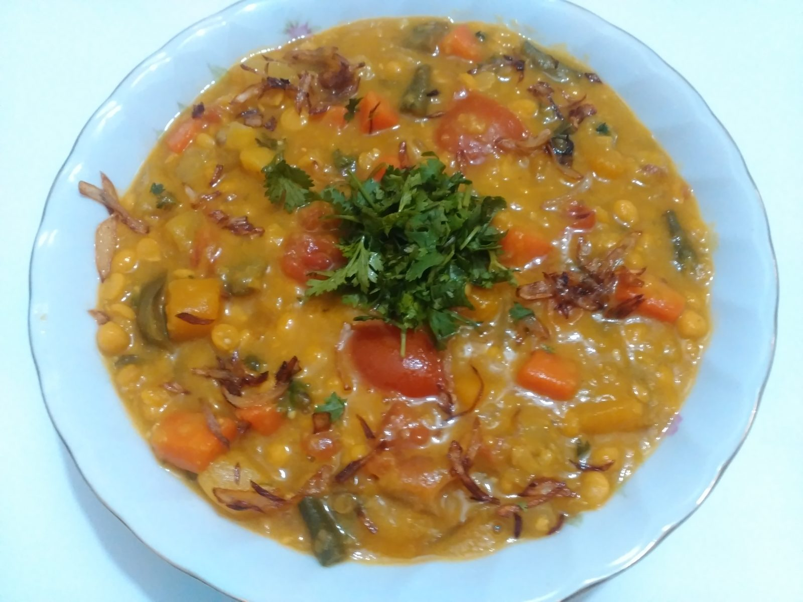 Vegetable Dal from Afroza's Kitchen