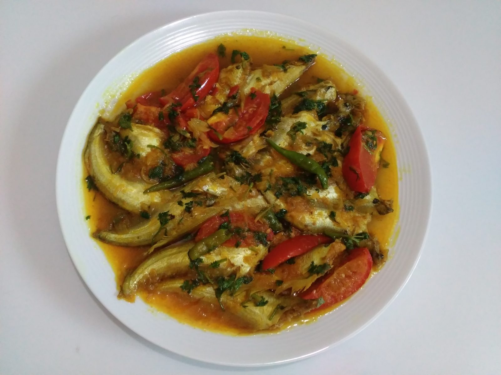 Pabda Mucher Curry from Afroza's Kitchen