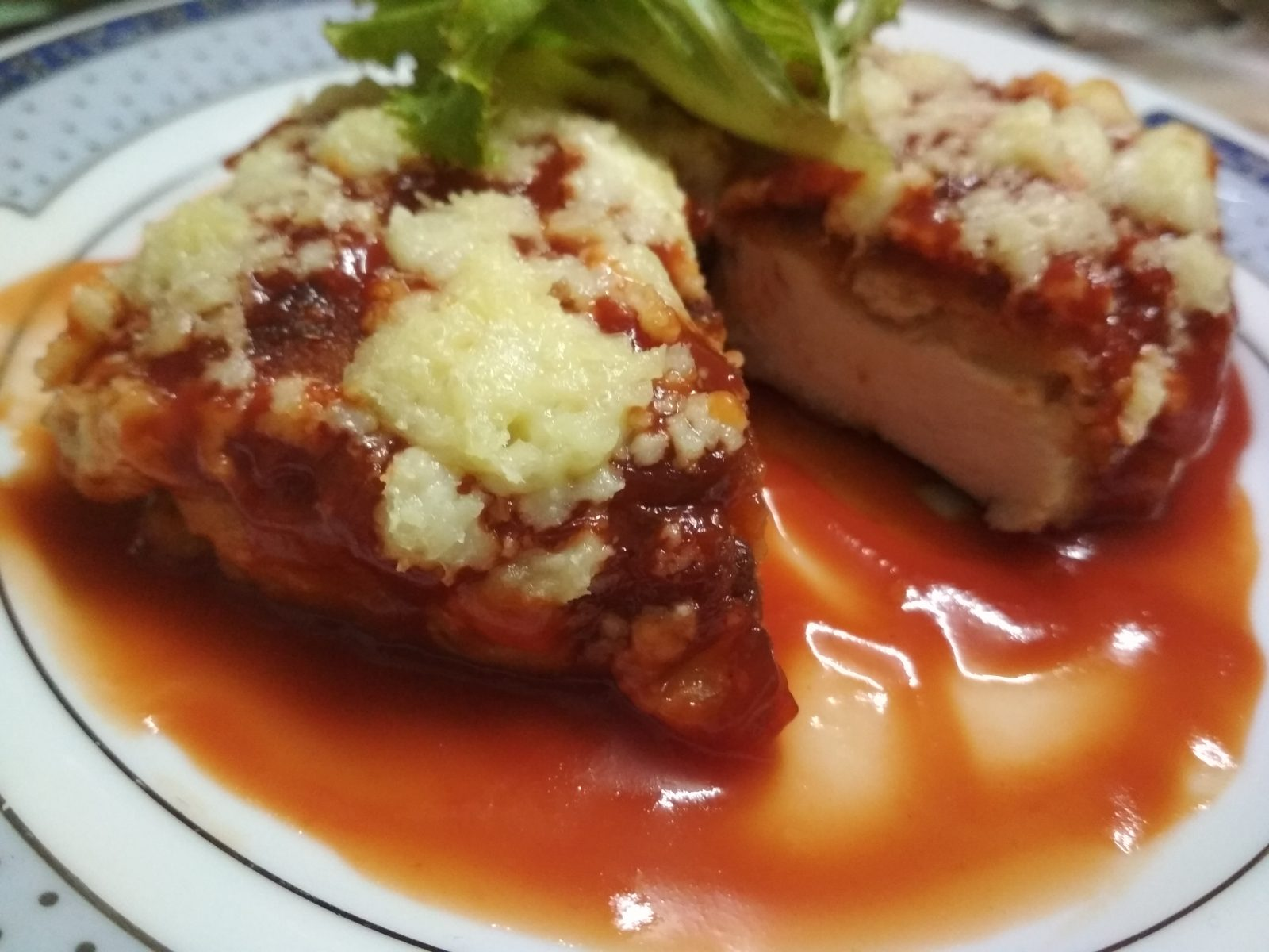 Classic Italian Chicken Parmesan from Nilima Rannaghor
