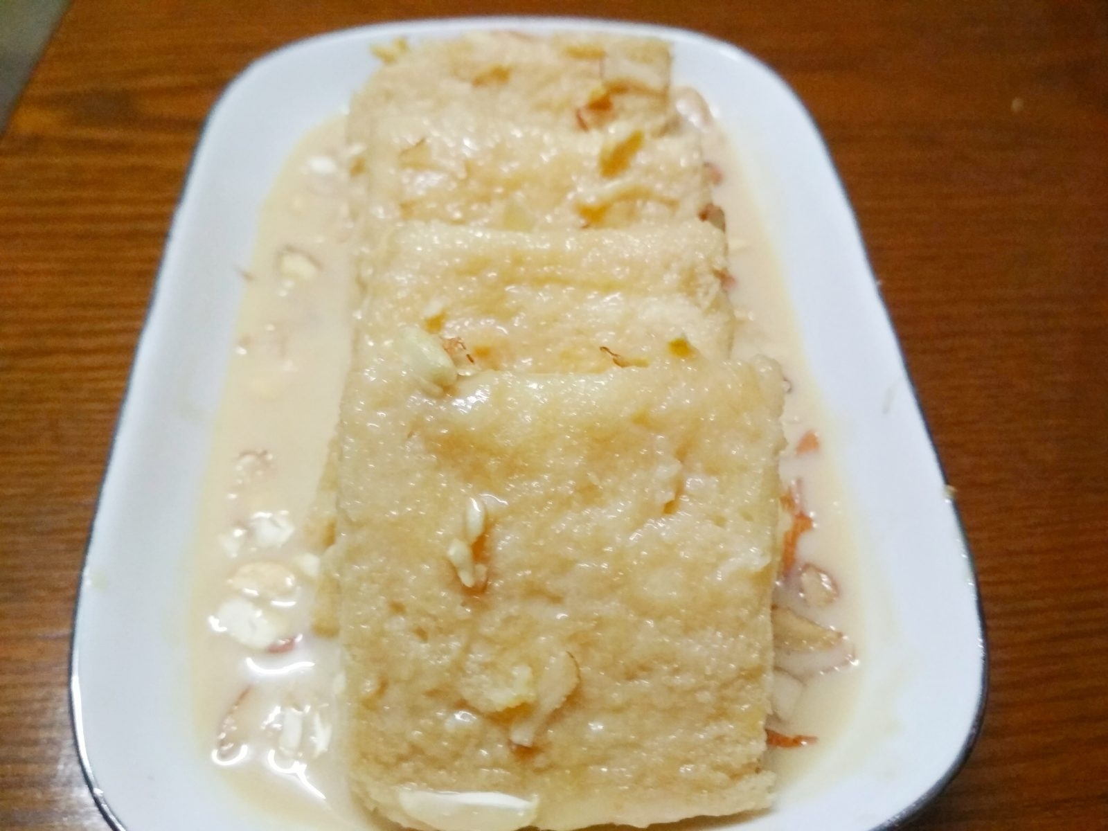 Bread Kheer Toast from Nilima Rannaghor