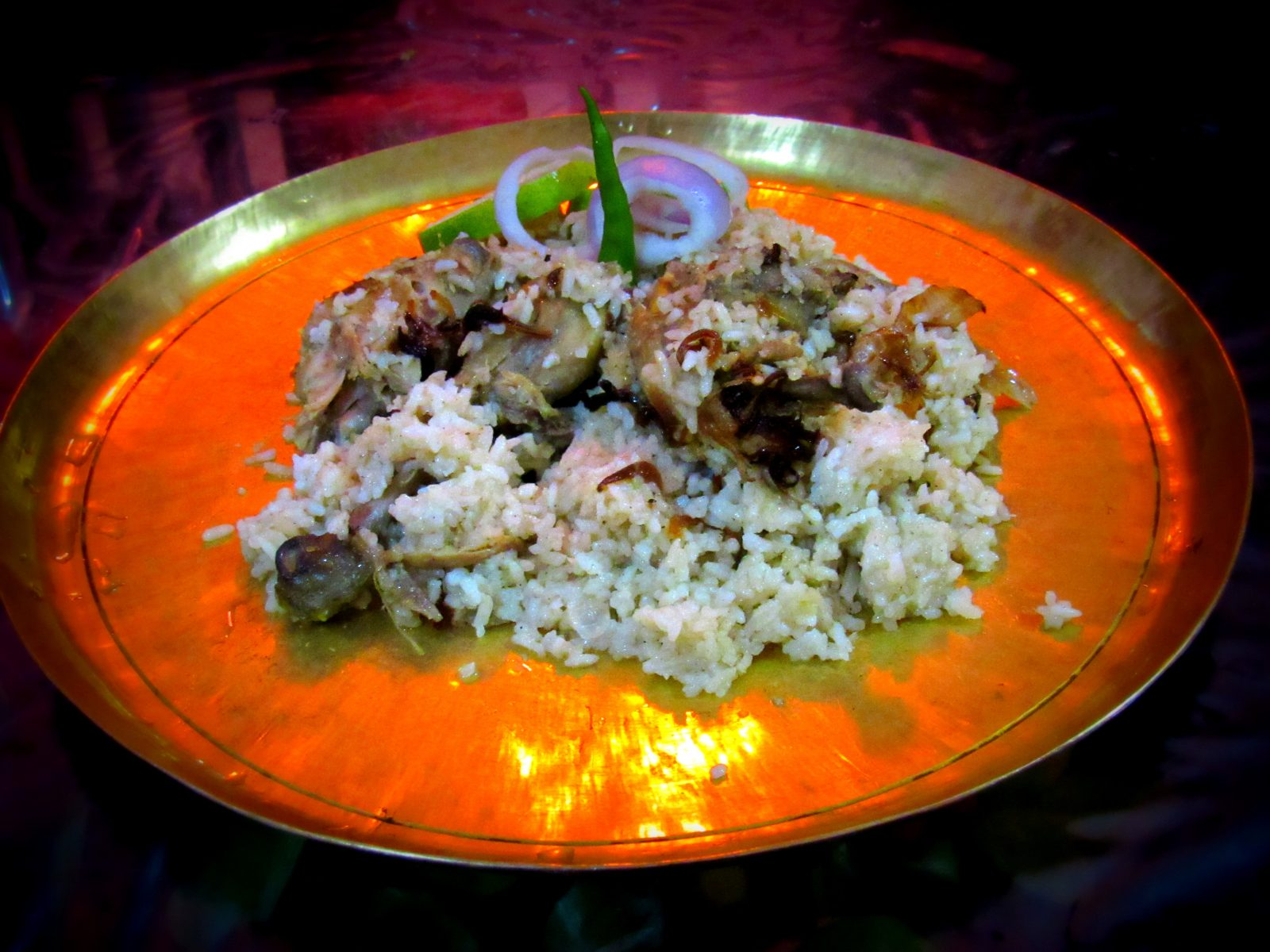 Chicken Biriyani from Momo's Cookhouse