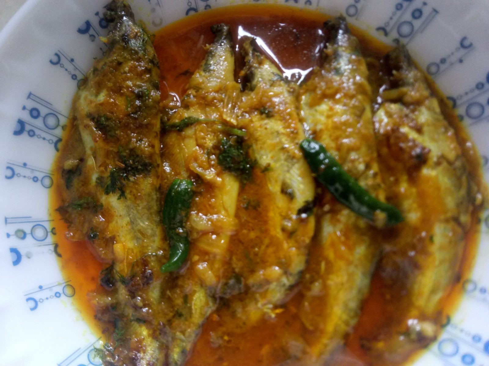 Pabda Mach er Vuna from Mohima's Kitchen