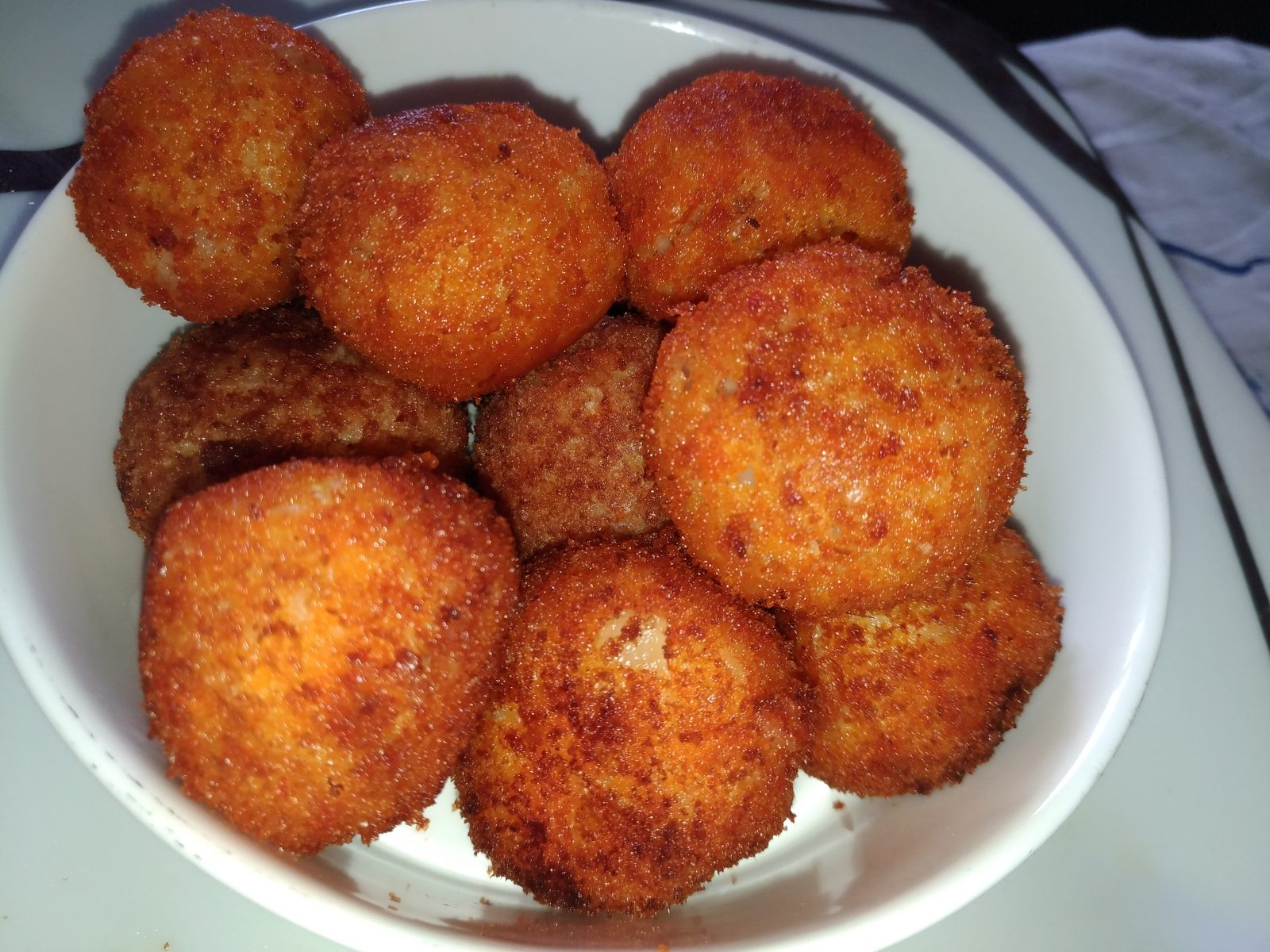 Rice Cheese Chicken Meat Ball from Mohima's Kitchen