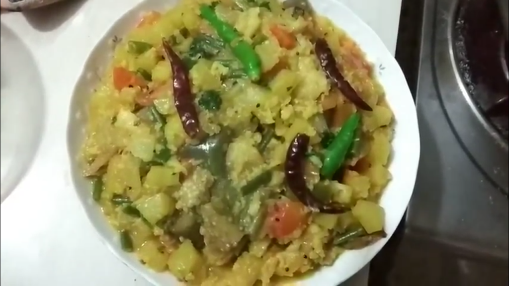 Mixed Vegetables (Labra) - 600g from Dipti's Cookhouse