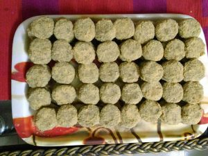 24 pcs Beef Tikia (Kabab) Egg and Breadcrumb Coated. from Bangaliana