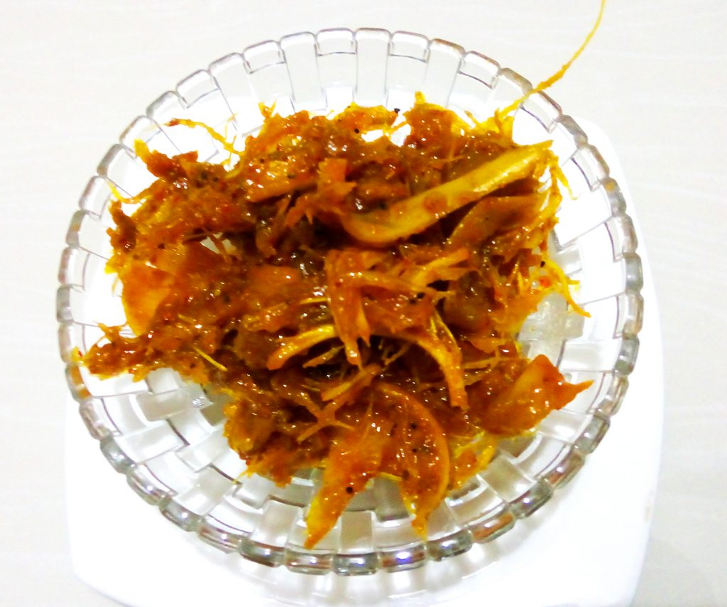 Chaltar Achar (Chalta Pickle) 500 gm+ from Bangaliana