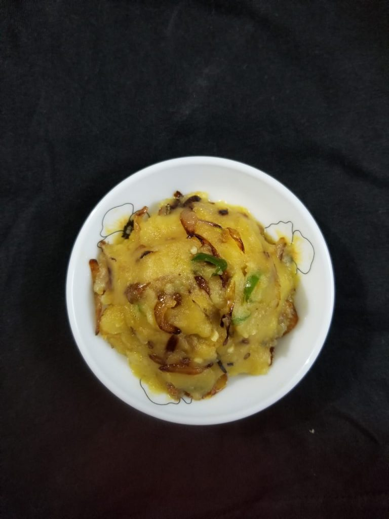 Aloo Bhorta from Cook with Delicacy