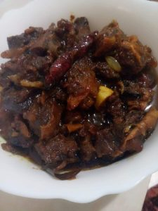 Beef Kalavuna from Niger's kitchen