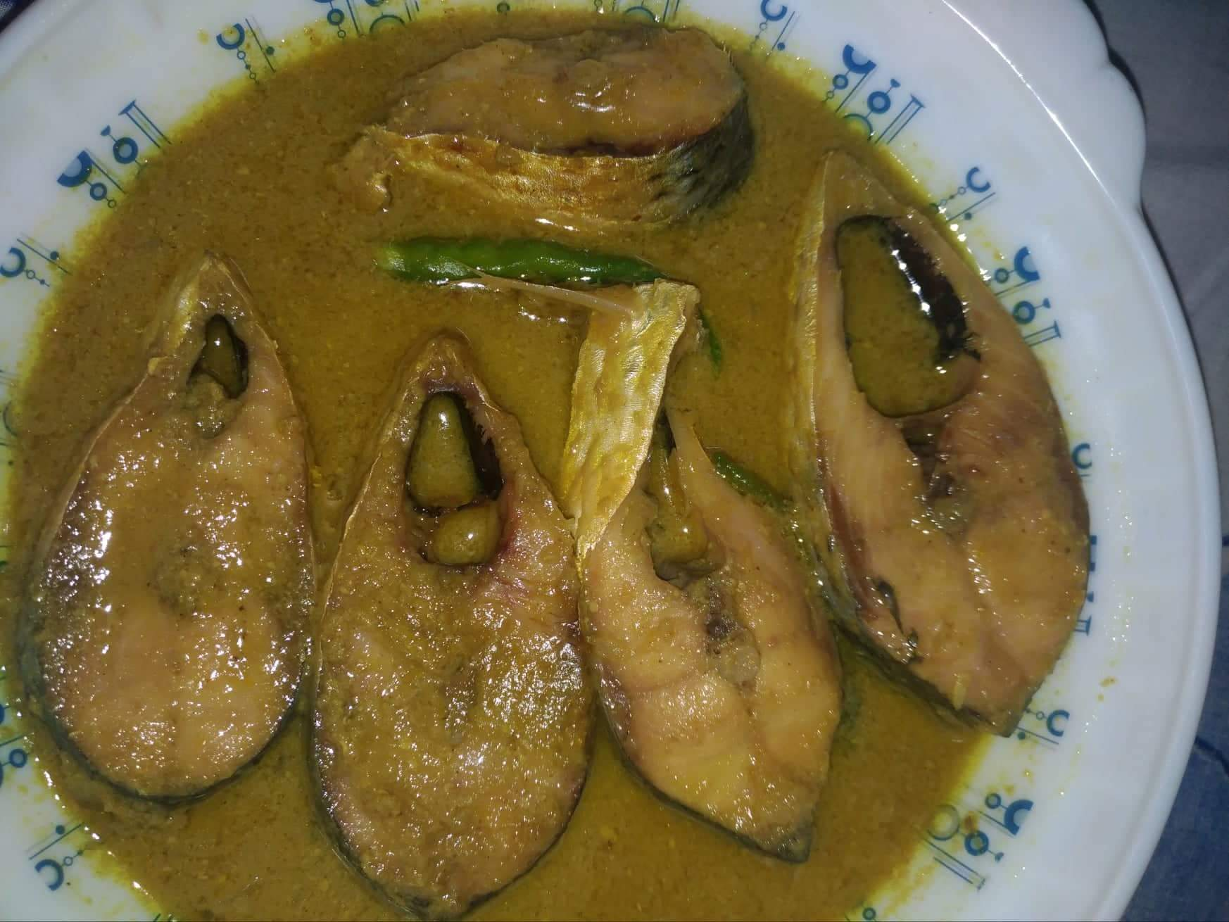 Sorshe Ilish from Mohima's Kitchen