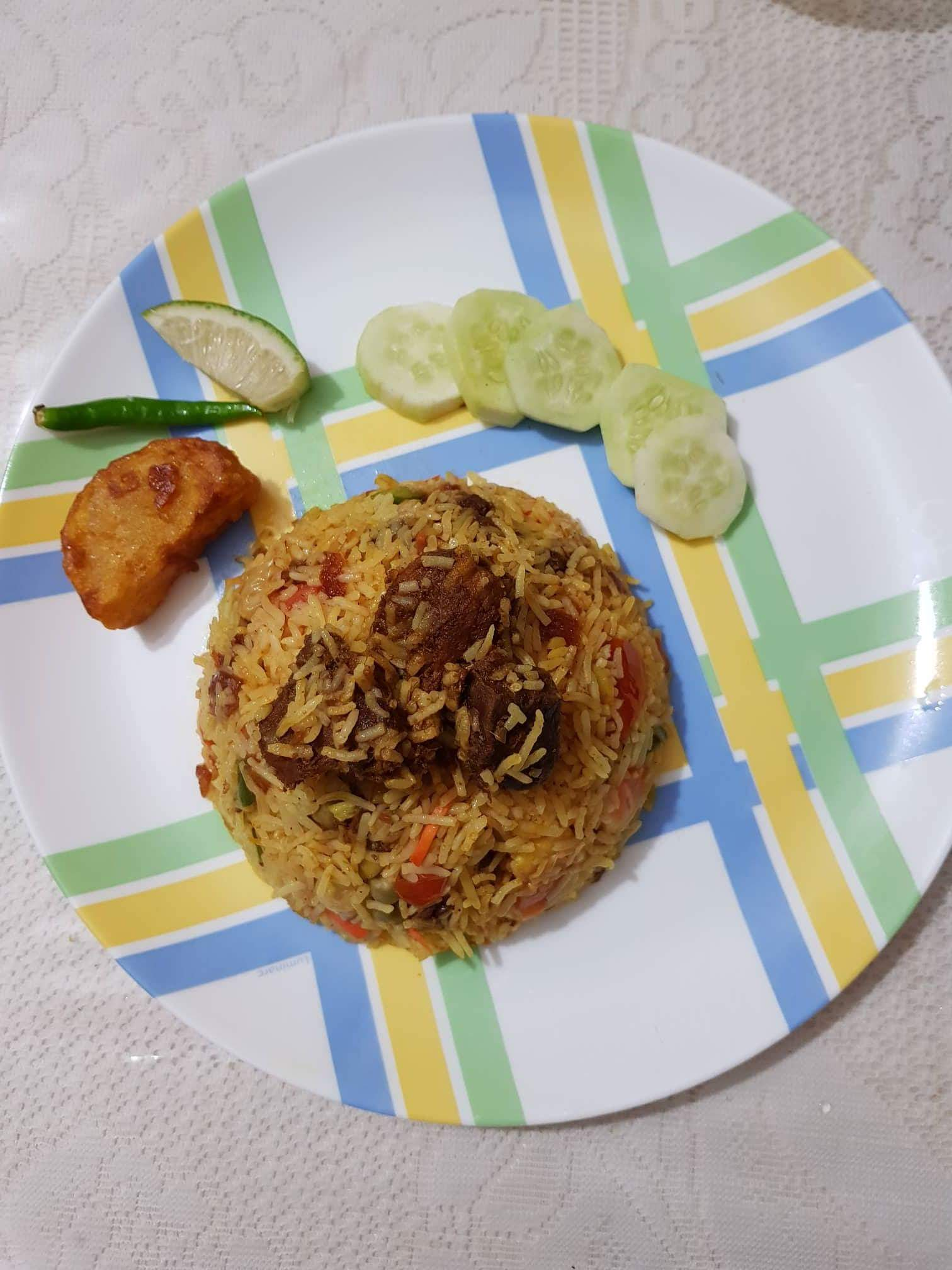 Pakki Biryani from Mitra's Kitchen