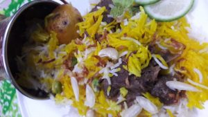 Mutton Dum Biriyani from Parijat Homefood