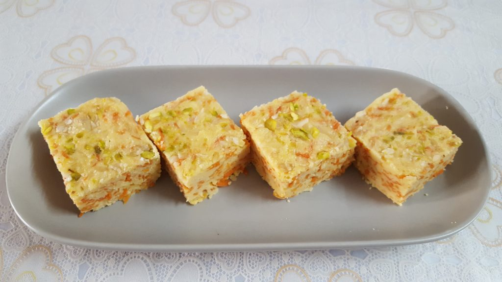 Baked Carrots Sondesh from Mou's Kitchen