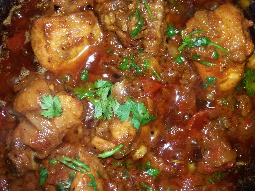 Special Korai Chicken from Prapti's Kitchen