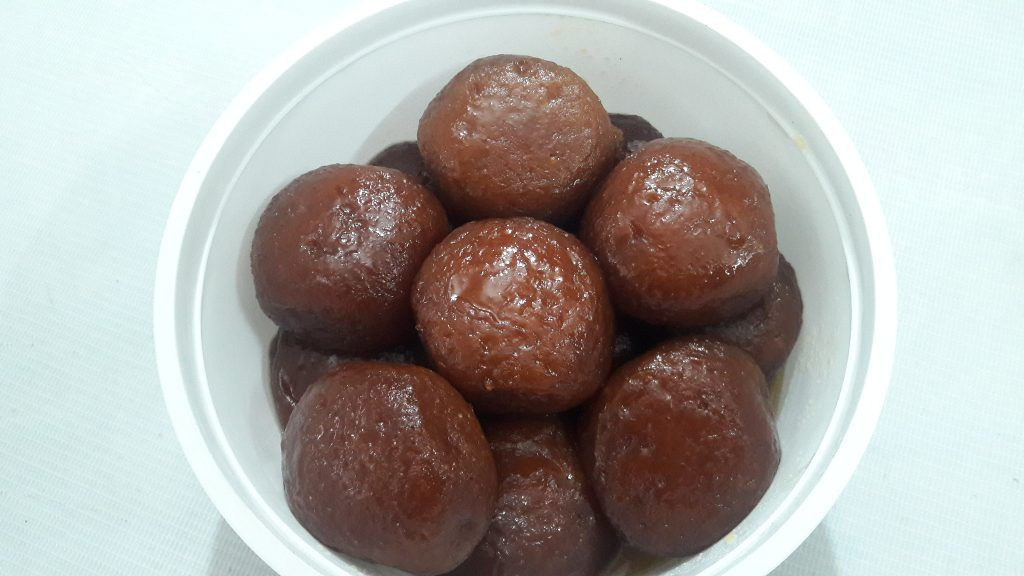 Shahi Gulabjamun from Parijat Homefood