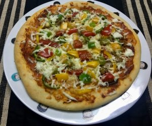 Pizza from Ruma's Kitchen