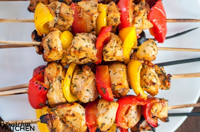 Chicken Kabab from Food Gossips
