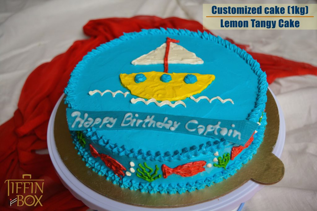 Sailor Cake from Tiffin Box
