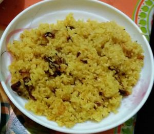 Halka Vuna Khichuri from Prapti's Kitchen
