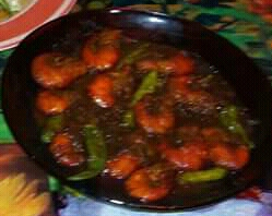 Golda Chingri Bhuna from Prapti's Kitchen