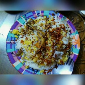 Chicken Biryani from Nuzhat's Dine