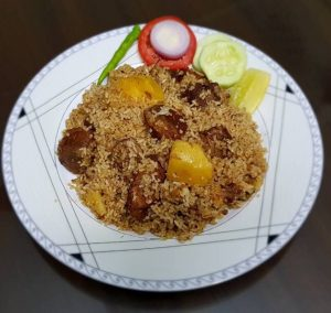Beef Biriyani from Ruma's Kitchen