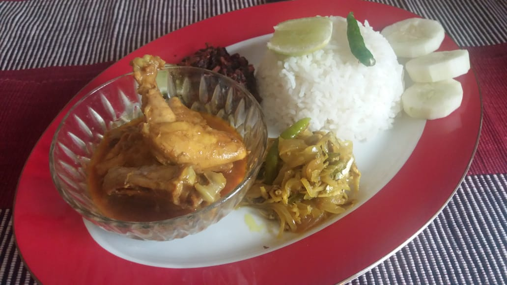 Chicken and Kaachki Fish Special Platter from Greatfood Kitchen