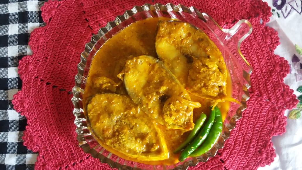 Sorshe Ilish from Greatfood Kitchen