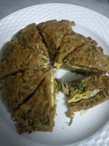 Dim er Jhal Pitha from Anika's Kitchen