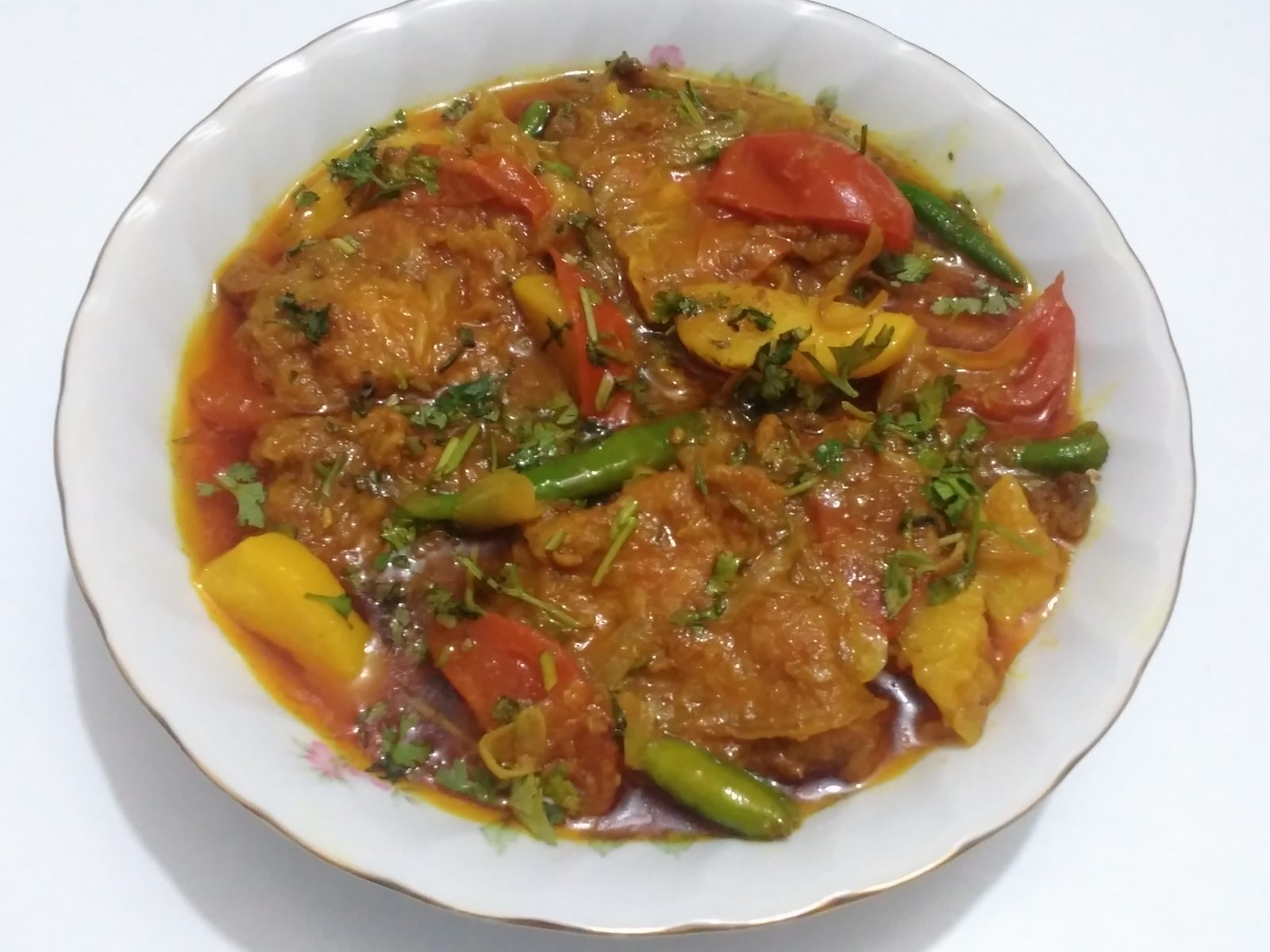 Rui Vegetables Curry from Afroza's Kitchen