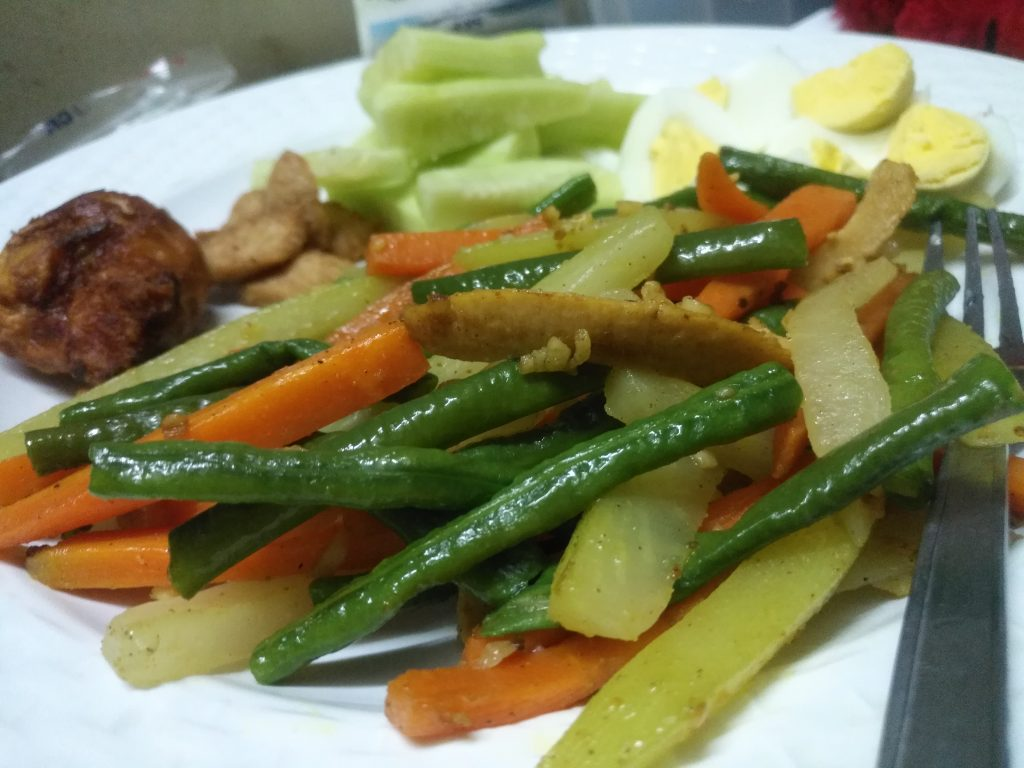 Sauteed Vegetable from Anika's Kitchen