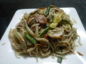 Thai Fried Noodles from Anika's Kitchen