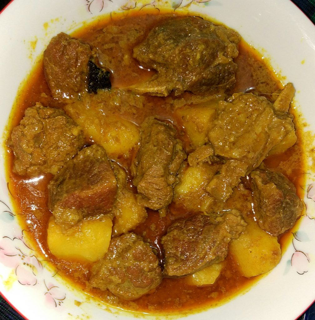 Beef Jhal Curry from Tahira's Cookhouse