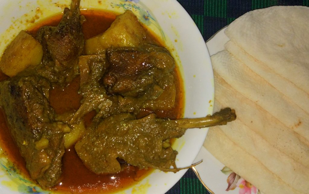 Duck Curry with Chaler Ruti from Tahira's Cookhouse