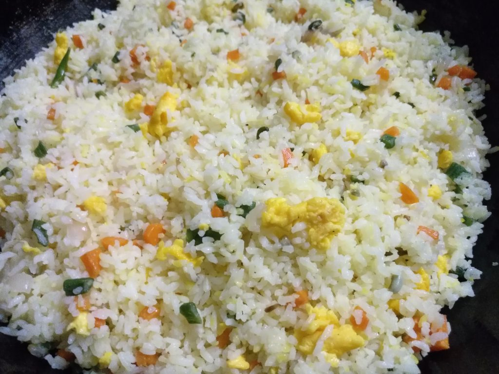 Fried Rice from Anika's Kitchen