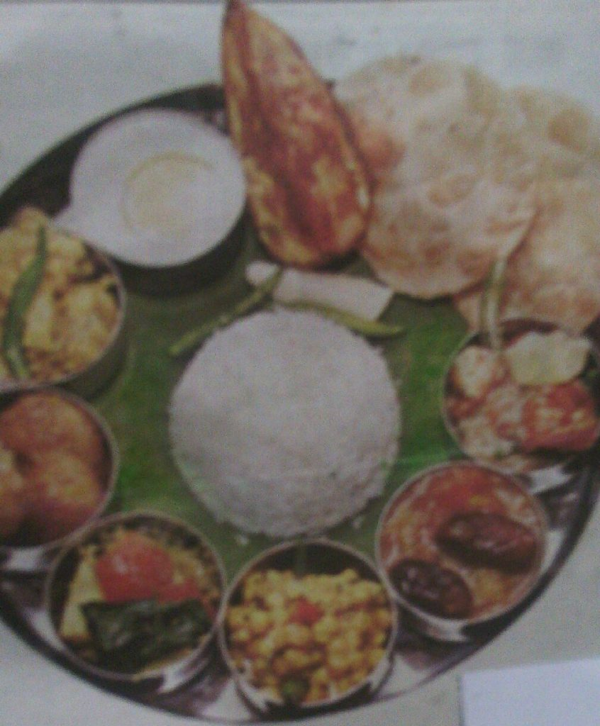 Pujor Niramish Thali from My Heshel