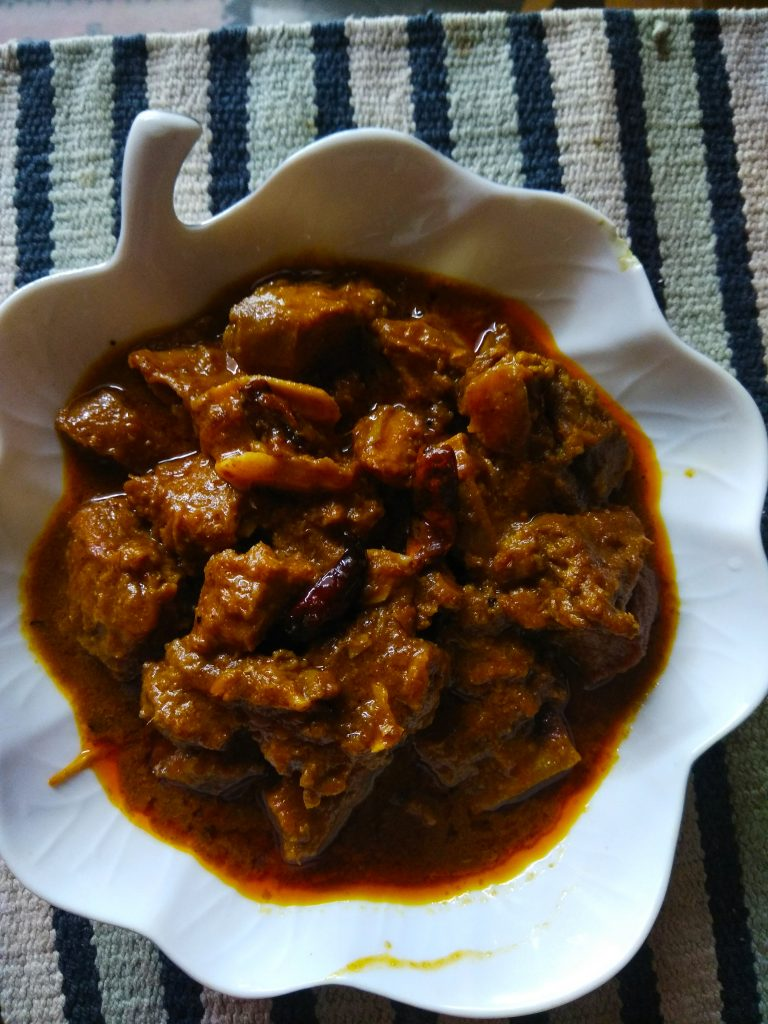 Jhaal Beef Bhuna from Ellie's Kitchen
