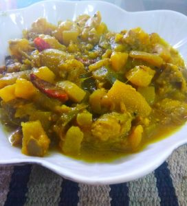 Mixed Vegetable Curry from Ellie's Kitchen