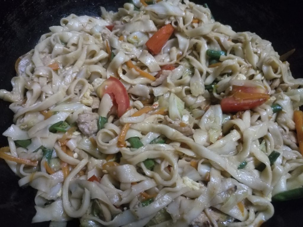 Pad Thai Noodles from Anika's Kitchen